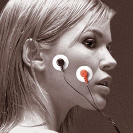 elettrodi sul viso